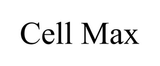 mark for CELL MAX, trademark #85723386