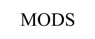 mark for MODS, trademark #85723586