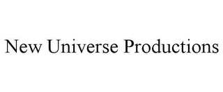mark for NEW UNIVERSE PRODUCTIONS, trademark #85723886