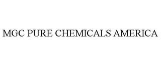 mark for MGC PURE CHEMICALS AMERICA, trademark #85723896