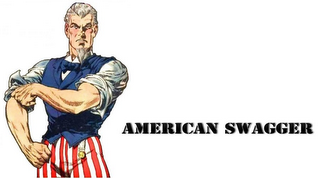 mark for AMERICAN SWAGGER, trademark #85723957