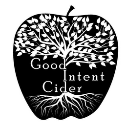 mark for GOOD INTENT CIDER, trademark #85724043