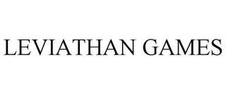 mark for LEVIATHAN GAMES, trademark #85724155