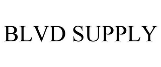 mark for BLVD SUPPLY, trademark #85724291