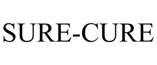 mark for SURE-CURE, trademark #85724368