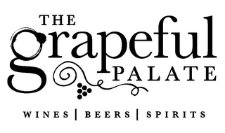 mark for THE GRAPEFUL PALATE WINES | BEERS | SPIRITS, trademark #85724394