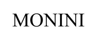 mark for MONINI, trademark #85724472