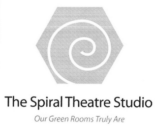 mark for THE SPIRAL THEATRE STUDIO OUR GREEN ROOMS TRULY ARE, trademark #85724897