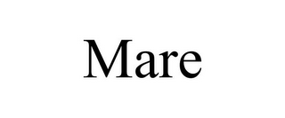 mark for MARE, trademark #85724972