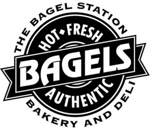 mark for THE BAGEL STATION BAKERY AND DELI HOT FRESH AUTHENTIC BAGELS, trademark #85725230