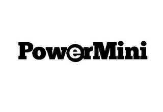 mark for POWERMINI, trademark #85725650
