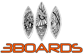 mark for 3BOARDS, trademark #85725724