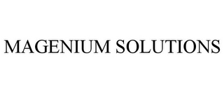mark for MAGENIUM SOLUTIONS, trademark #85725818