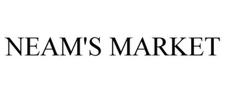 mark for NEAM'S MARKET, trademark #85726195