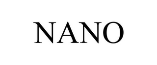 mark for NANO, trademark #85726375
