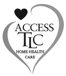 mark for ACCESS TLC HOME HEALTH CARE, trademark #85726381