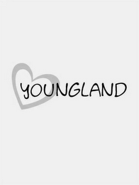 mark for YOUNGLAND, trademark #85726392