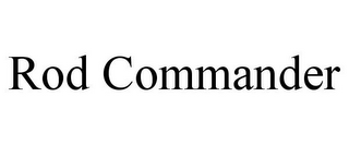 mark for ROD COMMANDER, trademark #85726460