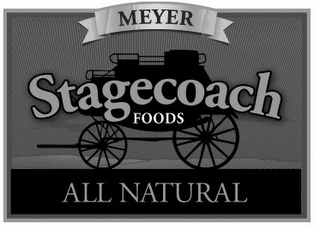 mark for MEYER STAGECOACH FOODS ALL NATURAL, trademark #85726511