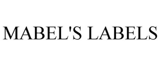 mark for MABEL'S LABELS, trademark #85727034
