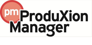 mark for PM PRODUCTION MANAGER, trademark #85727041