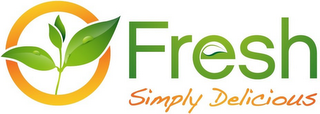 mark for FRESH SIMPLY DELICIOUS, trademark #85727058