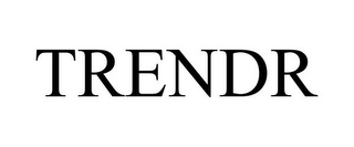 mark for TRENDR, trademark #85727093