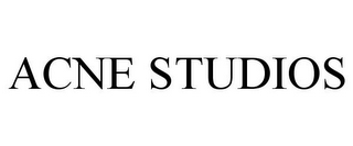 mark for ACNE STUDIOS, trademark #85727173