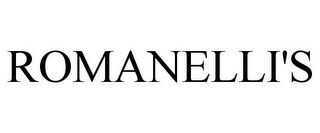 mark for ROMANELLI'S, trademark #85727317