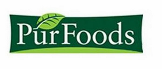 mark for PURFOODS, trademark #85728072