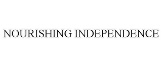mark for NOURISHING INDEPENDENCE, trademark #85728096