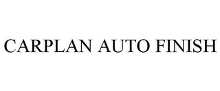 mark for CARPLAN AUTO FINISH, trademark #85728315