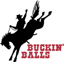 mark for BUCKIN' BALLS, trademark #85728329