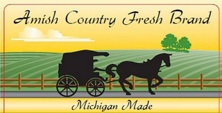 mark for AMISH COUNTRY FRESH BRAND MICHIGAN MADE, trademark #85728406
