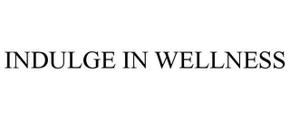 mark for INDULGE IN WELLNESS, trademark #85728476