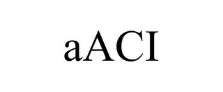 mark for AACI, trademark #85728818