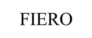 mark for FIERO, trademark #85728859