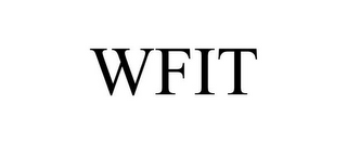 mark for WFIT, trademark #85728892
