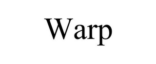 mark for WARP, trademark #85728976