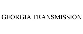 mark for GEORGIA TRANSMISSION, trademark #85729029
