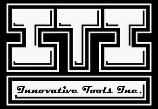 mark for ITI INNOVATIVE TOOLS INC., trademark #85729040