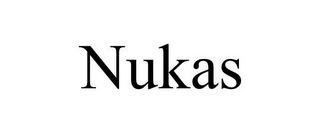 mark for NUKAS, trademark #85729364