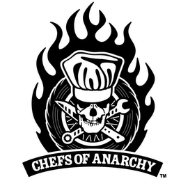 mark for CHEFS OF ANARCHY, trademark #85729726