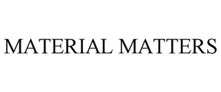 mark for MATERIAL MATTERS, trademark #85729796