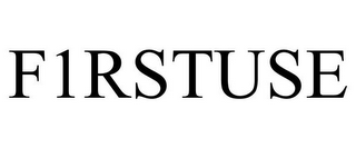 mark for F1RSTUSE, trademark #85729816