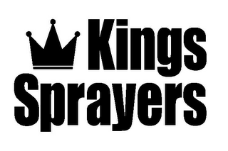mark for KINGS SPRAYERS, trademark #85729873