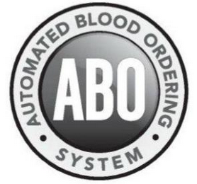 mark for ABO AUTOMATED BLOOD ORDERING · SYSTEM ·, trademark #85729890