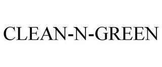 mark for CLEAN-N-GREEN, trademark #85729945