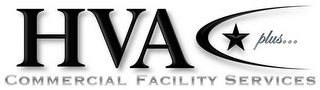 mark for HVA PLUS... COMMERCIAL FACILITY SERVICES, trademark #85730127