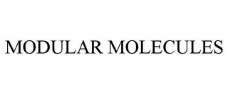 mark for MODULAR MOLECULES, trademark #85730291